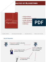 Analysis of Algorithms