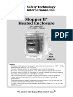 STI 1200A-HTR Instruction Manual