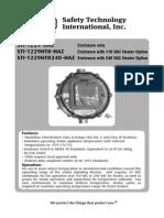 STI 1229HTRHAZ Instruction Manual