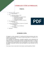 41. Éticas Materiales y Formales