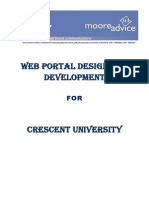 Proposal for Crescent University