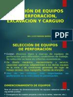 12. Selección Equipos de Perfo.excav. Carguio