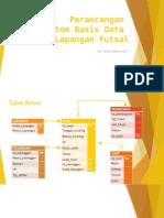 Penyewaan Lapangan Futsal