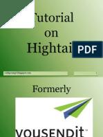 Tutorial Hightail