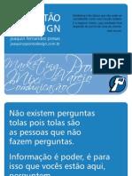 Gestão Do Design - By Joaquin Fernandez Presas
