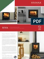 Stoves Riva Stoves Cassettes Brochure | Firecrest Stoves