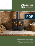Yeoman Wood Stoves Brochure | Firecrest Stoves