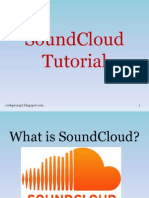 Tutorial on SoundCloud