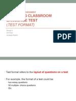 TSL3123 Language Assessment