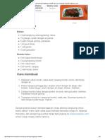 Resep Plecing Kangkung Lombok Dan Cara Membuat _ BacaResepDulu
