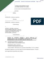 Silvers v. Google, Inc. - Document No. 205