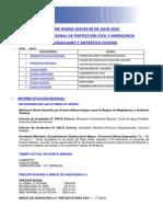 Informe Diario Onemi Magallanes 09.07.2015