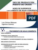 Facilidades de Superficie Tratamiento de Agua Congénita 24-07-2014