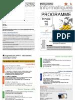 Programme Mars Avril2010