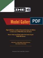 POD HD Model Gallery - English ( Rev D )