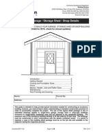 Typical Garage / Storage Shed / Shop Details