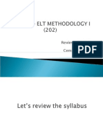 Review of Syllabus - Introduction to the Course (204)