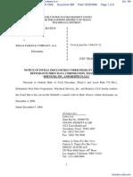 Datatreasury Corporation v. Wells Fargo & Company et al - Document No. 388