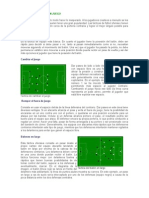 Tecnicas Defensivas y Ofensivas Del Futbol - Medidas de La Cancha de Futbol
