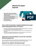 Rezeptfreie Medikamente Gegen Sodbrennen Alginate 4500 Mhci7i