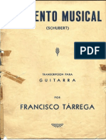 Momento Musical Schubert Tarrrega