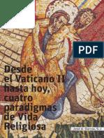 Cuatro Paradigmas de La Vida Religiosa - JA Garcia, Sj