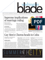 Washingtonblade.com, Volume 46, Issue 28, July 10, 2015