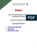 3 Principi Dinamica