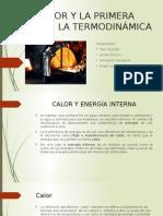 El Calor y La Primera Ley de La Termodinamicac