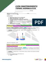 Evaluación Mantenimiento Sistemas Hidraulicos