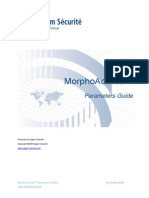 MorphoAccess Parameters Guide