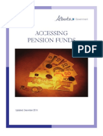 Info Accessing Pension Funds