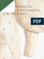 Termos básicos para catalogação de vestuários