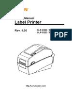 SLP D220 Userguide En