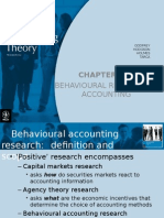 Ch13 Behavioural Research in Accounting