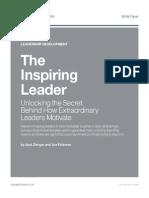 Unlocking the Secret Behind How Extraordinary Leaders Motivate
