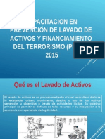 Capacitación PLAFT 2015