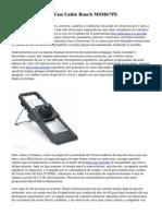 Batidora De Mano Con Cable Bosch MSM67PE