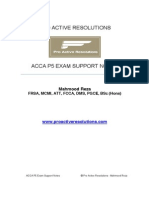 40273532 ACCA P5 Revision Notes