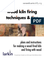 Wood Kiln Firing Techiques and tips