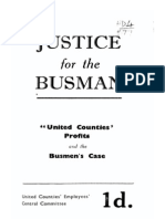 Justice for the Northamptonshire Busmen