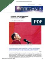 El Retiro de Venezuela Del Sistema Interamericano de Los DDHH