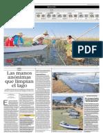 El Comercio - 04-07-2015 - Las manos anonimas que limpian el lago Titicaca.pdf