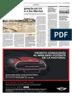 El Comercio - 06-07-2015 - Declaran emergencia en 14 regiones debido a lluvias.pdf