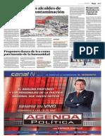 El Comercio - 22-06-2015 - Investigan a dos alcaldes de Arequipa por contaminación.pdf