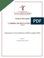 Catálogo E. Inicial V1