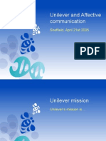 Unilever and Affective Communication