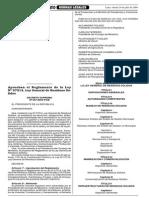 DS 057-2004-PCM Reglamento de La Ley de Residuos Solidos