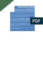 Programa de Necesidades ARQUITECTURA Formulario