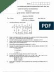TOC Question Paper